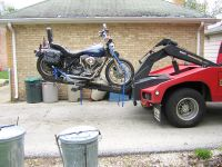 Towing - Harley Davidson FXR Low Rider