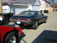 Towing - 1971 Cougar